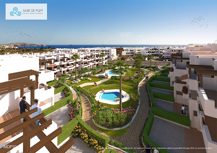 2 Bedrooms - Apartment - Almeria - For Sale