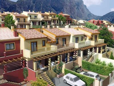 2 Bedroom Townhouse in Polop